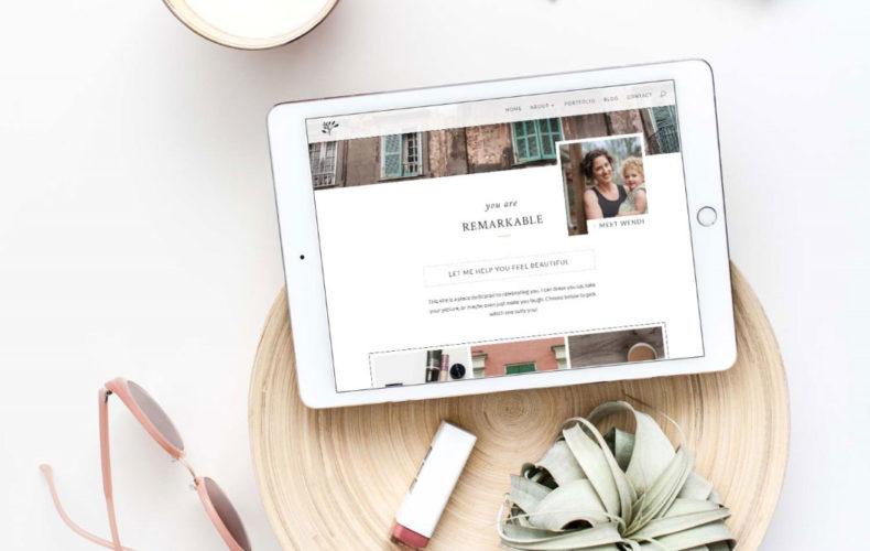 Website Launch: Wendi Matt Photographer + Stylist
