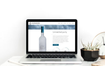 Website Launch: Aermoor Vodka