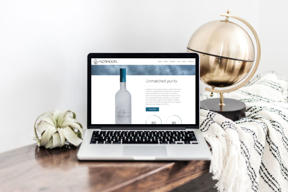 Aermoor-Vodka-Website-Launch
