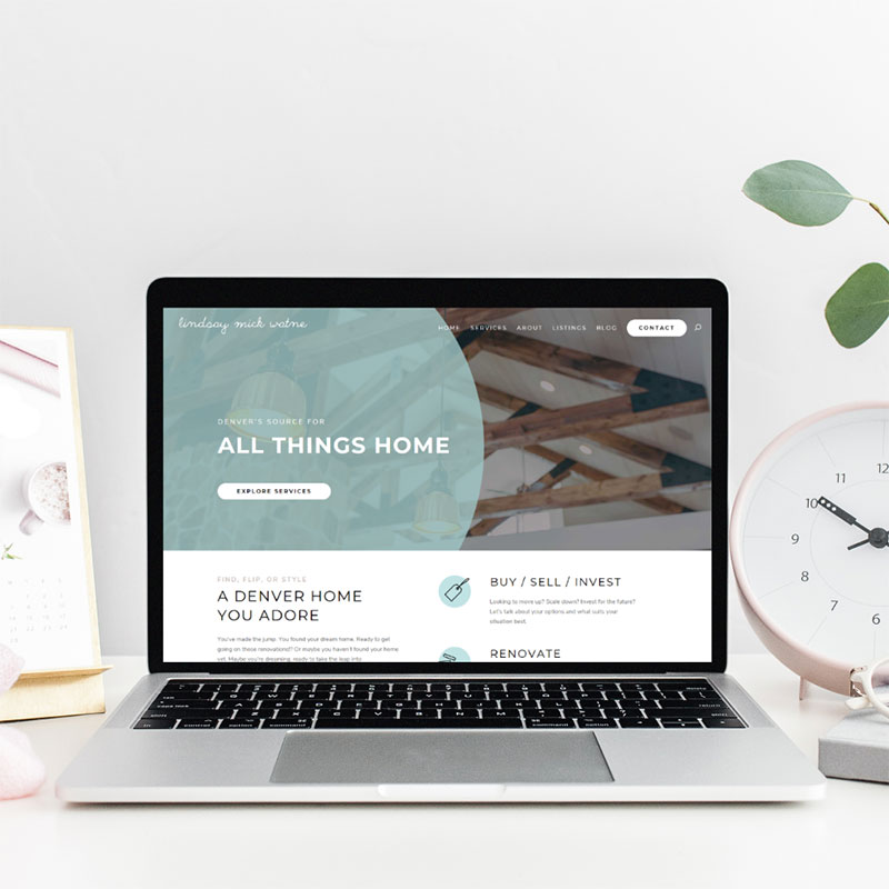 Home Blog Website Design
